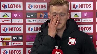 Karol Świderski po meczu z Andorą