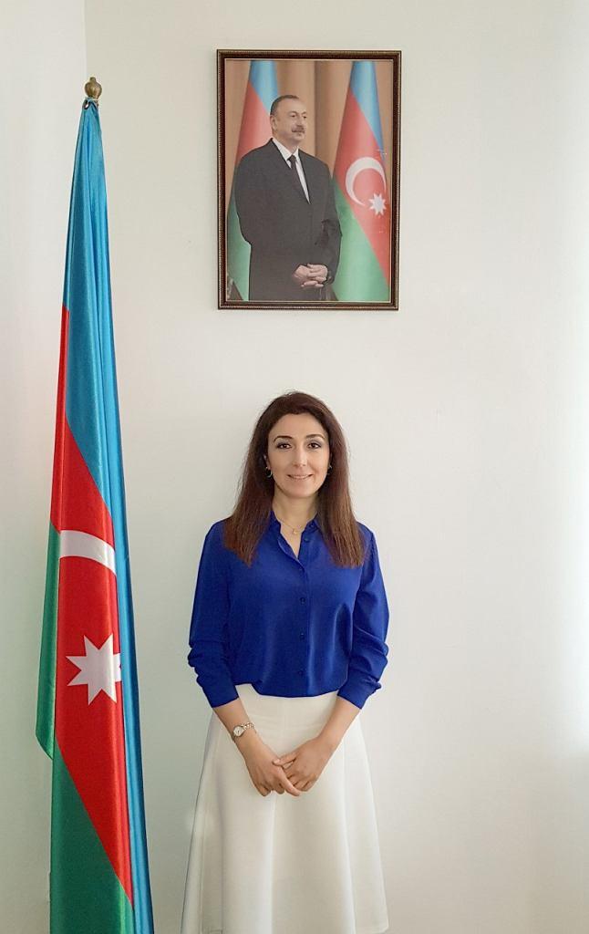 Dr Nargiz Gurbanova, ambasador Republiki Azerbejdżanu  w Rzeczypospolitej Polskiej