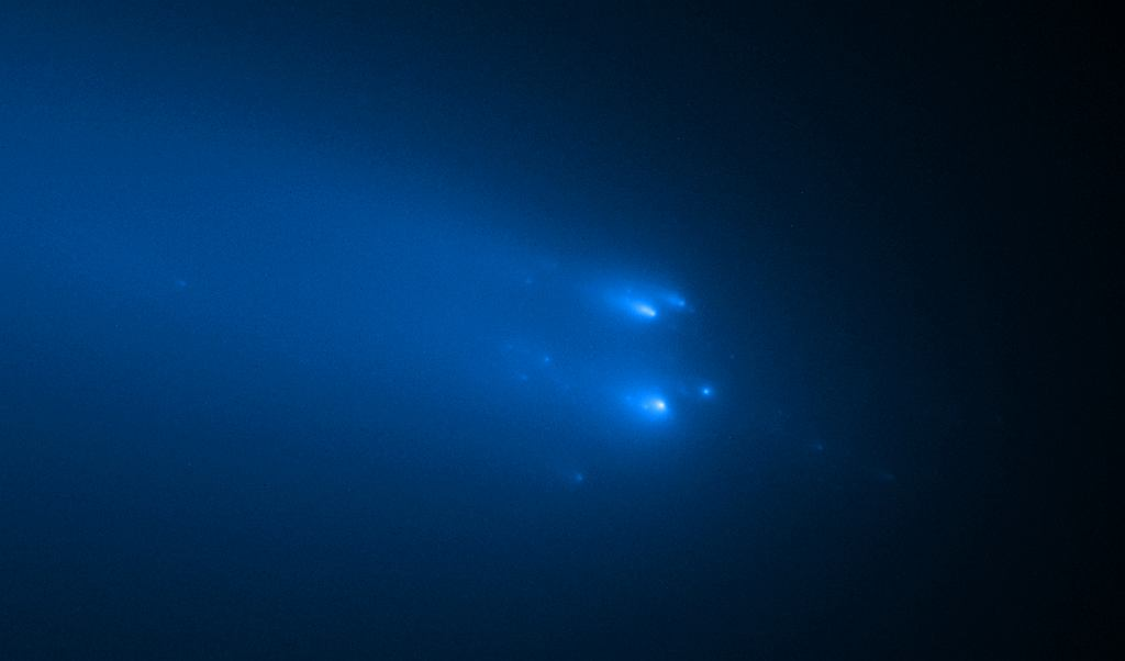 Hubble uchwycił moment rozpadu komety Atlas