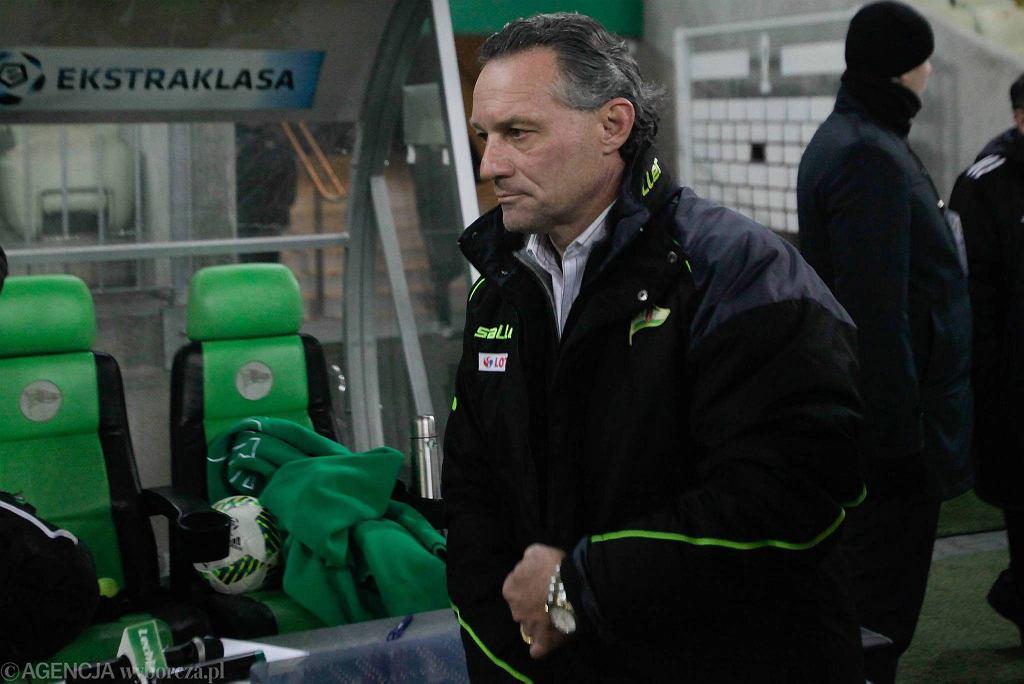 Lechia Gdańsk - Podbeskidzie Bielsko-Biała 5:0. Piotr Nowak