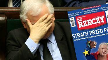 """Jarosław Kaczyński, okładka """"Do rzeczy"""""""