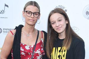 Fabienne z mamą