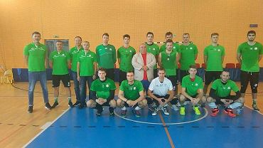 W takim składzie Indykpol AZS Olsztyn rozgrywał mecze towarzyskie z Espadonem Szczecin