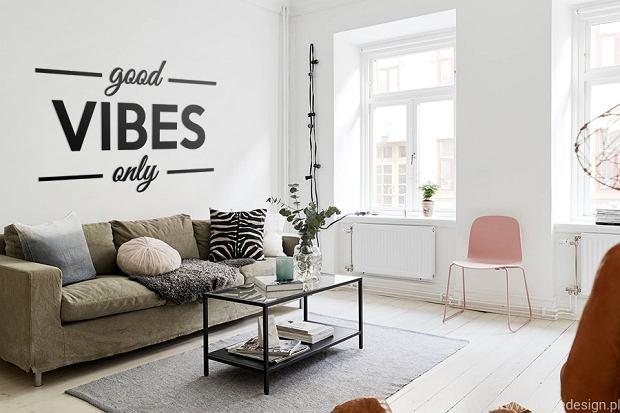 Napisy na ścianę - dekoracja z pomysłem