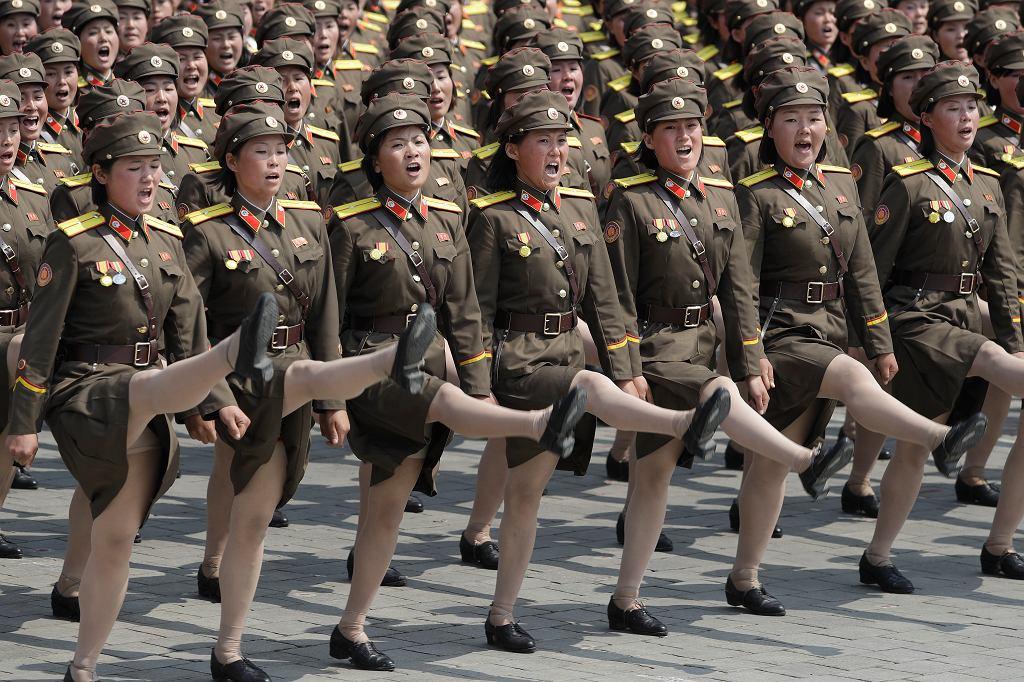 Korea Północna, parada wojskowa z 2017 roku