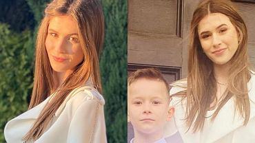 """Roksana Węgiel cała na biało na Pierwszej Komunii brata. Oddała się w ręce stylistki. """"Świetny look"""""""