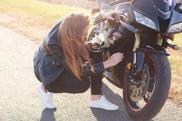 'Od paru lat chciałam nauczyć się jeździć na motocyklu i w końcu znalazłam na to czas'