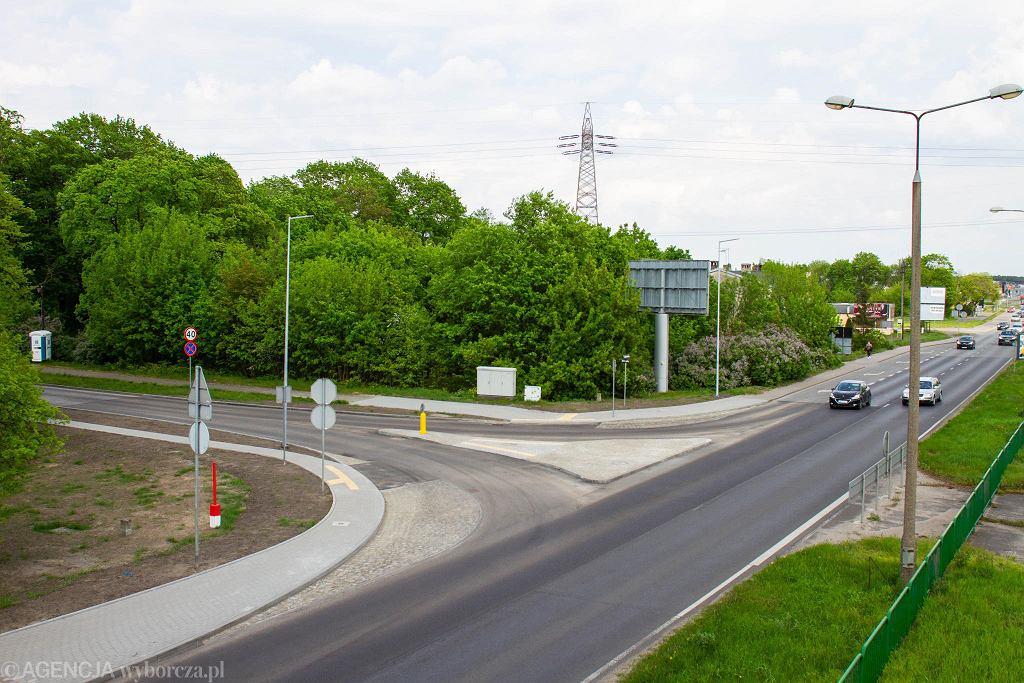 Przebudowane skrzyżowanie ul. Fordońskiej i Jasinieckiej