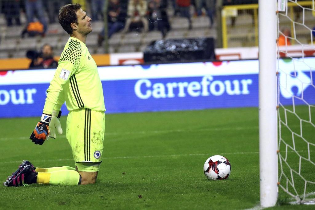 Belgia - Bośnia i Hercegowina 4:0. Asmir Begović
