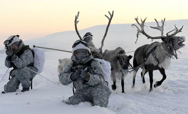 Ćwiczenia rosyjskich oddziałów w obwodzie murmańskim