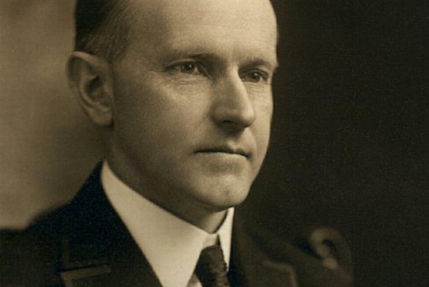 Calvin Coolidge, 30. prezydent USA. Nie miał apetytu i spał po 15 godzin na dobę