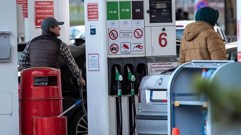 Stacja benzynowa, stacja paliw, dystrybutor