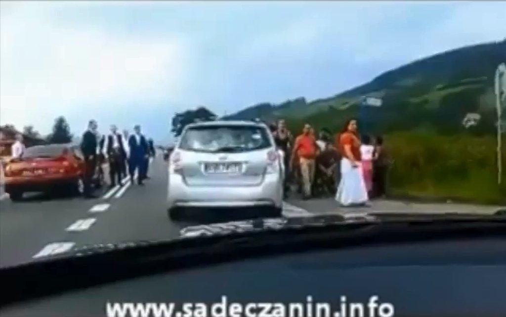 Napad Romów na orszak weselny w Małopolsce