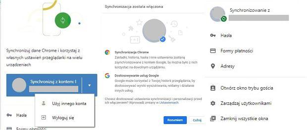 Automatyczne logowanie do Chrome 69