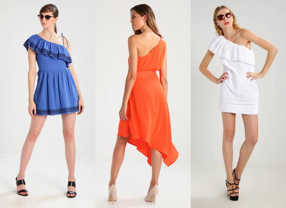 8b9d85b5c98eb2 Sukienka na jedno ramię - trzy modele, odpowiadające potrzebom ...