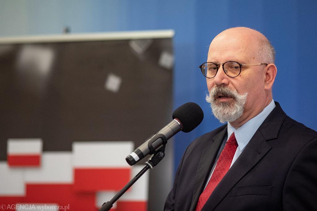 Prezes Reduty Dobrego Imienia Maciej Świrski