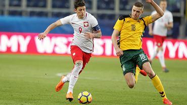 Dawid Kownacki nie trenuje z reprezentacją Polski