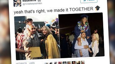 Oba zdjęcia dzieli 17 lat różnicy.