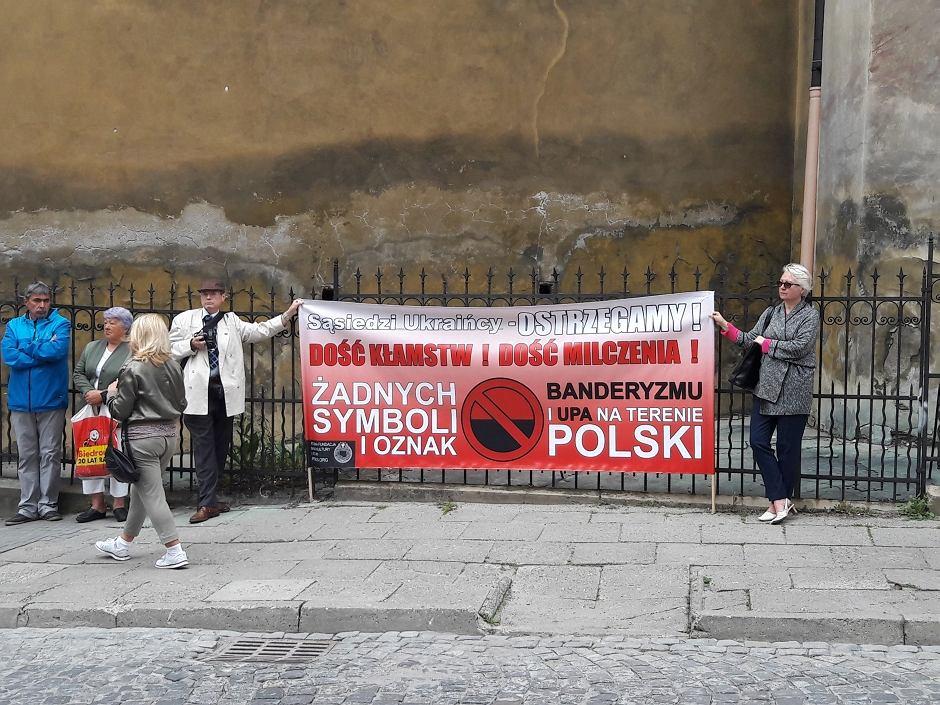 'Święto ukraińskiej pamięci narodowej' w Przemyślu