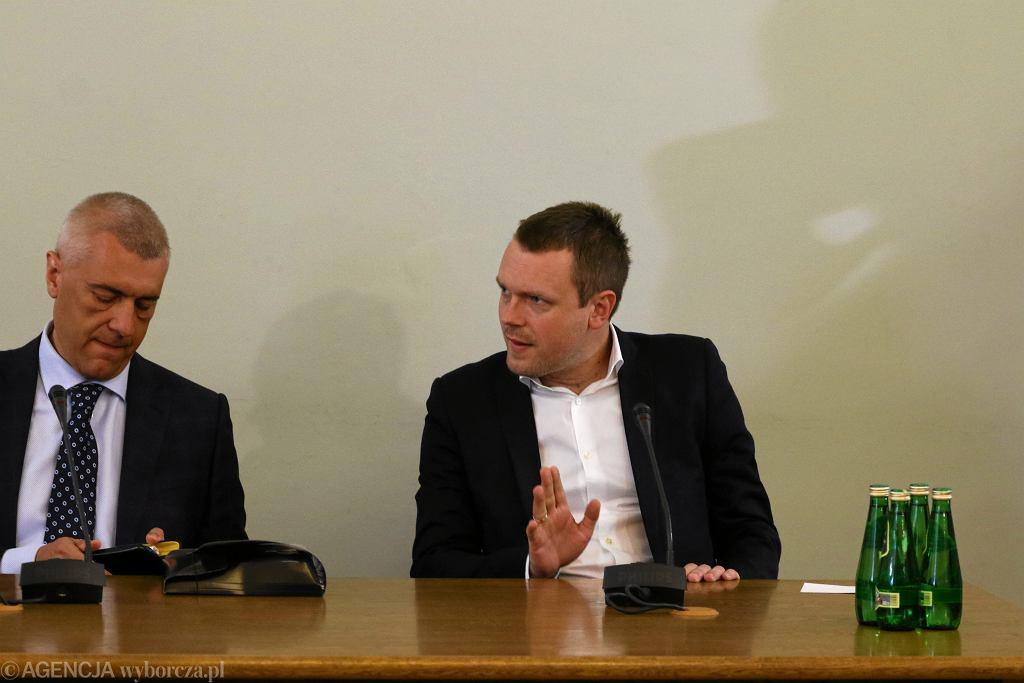 Michał Tusk przed Komisją Śledczą