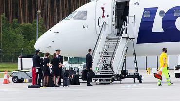 -Odlot samolotu PLL LOT z Bydgoszczy do Grecji