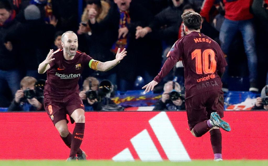 Andres Iniesta i Leo Messi, Chelsea - Barcelona