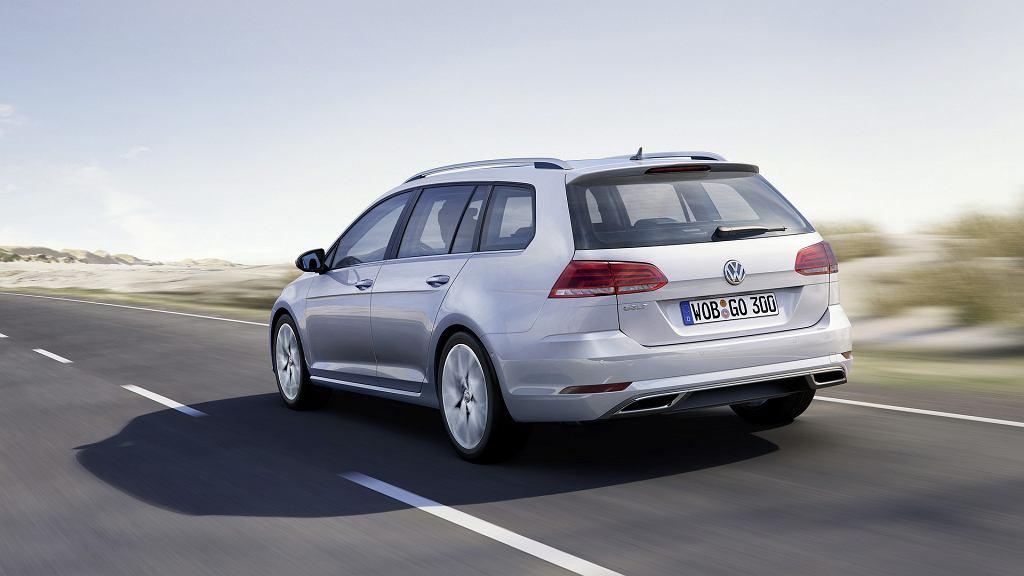 Volkswagen Golf po faceliftingu