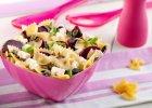 Sałatka makaronowa z pieczonym burakiem i serem feta - Zdjęcia