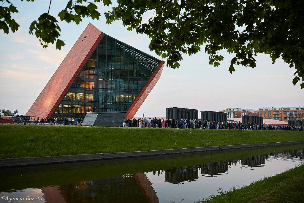 Muzeum II Wojny Światowej w Gdańsku.