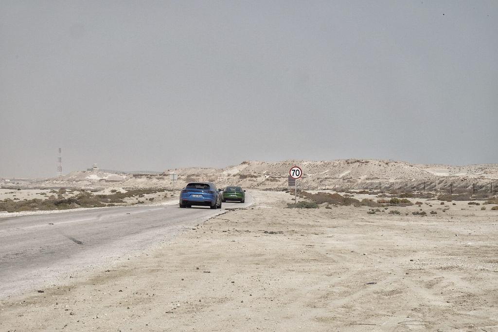 Nowe Porsche Panamera GTS na drodze Bahrajnu