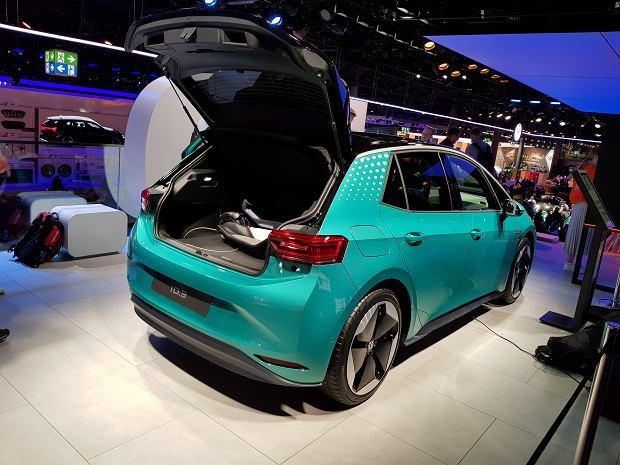Volkswagen ID.3, targi Frankfurt 2019