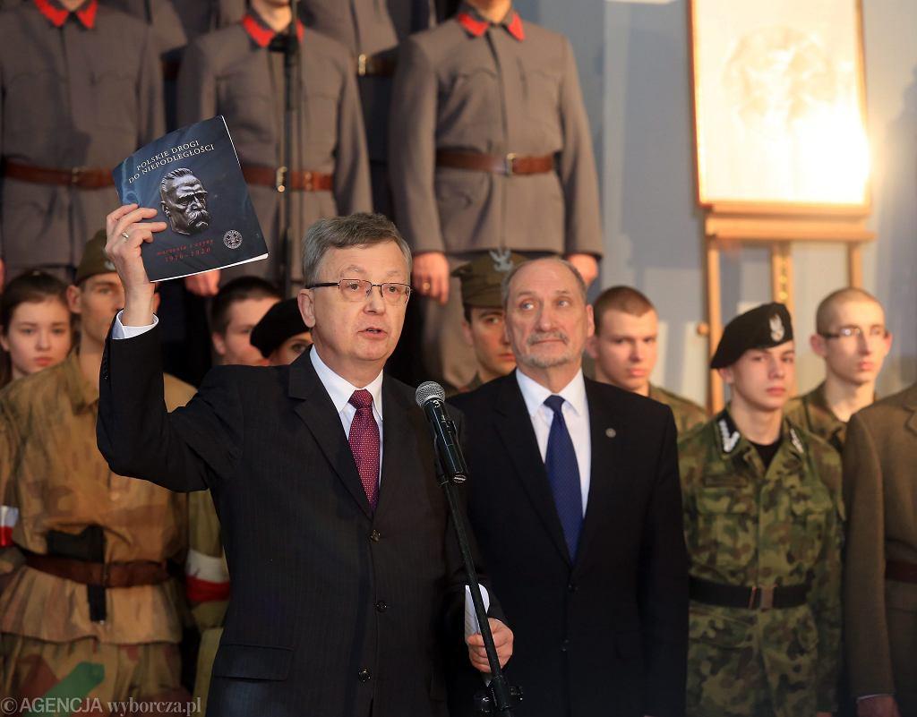 Wojciech Fałkowski i Antoni Macierewicz