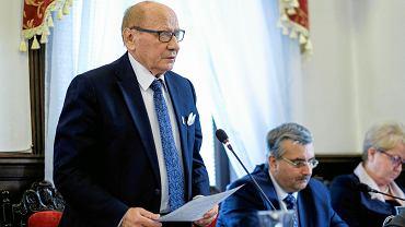 Ostatnia sesja Rady Miasta Rzeszowa tej kadencji. Na zdjęciu Tadeusz Ferenc, prezydent Rzeszowa