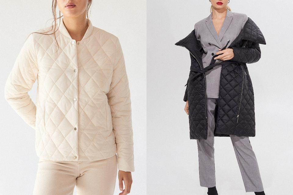 Pikowane kurtki