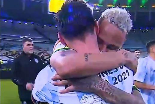 Neymar zdradził, co powiedział Messiemu po finale Copa America
