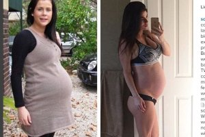 Zgadniecie, na którym zdjęciu jest ciąża bliźniacza?