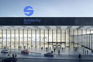 CPK chwali się logo na tle lotniska w Amsterdamie. Twórcy użyli cudzej grafiki. Doszło do pomyłki