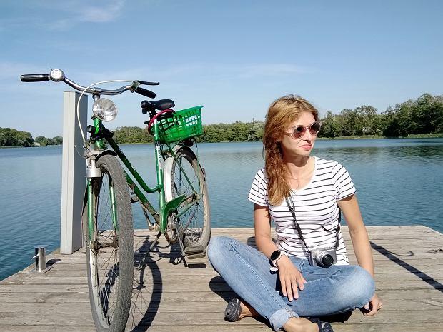 Zuzanna nad jeziorem w Choszcznie
