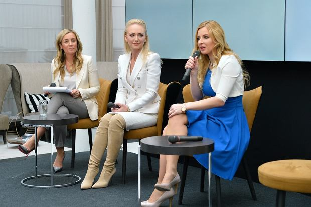 Od lewej: Karolina Ferenstein-Kraśko, Katarzyna Nadolna, Joanna Kuschill-Dziurda