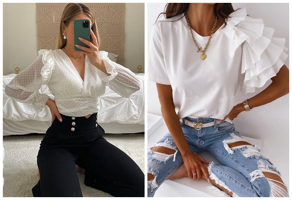 stylowe bluzki damskie