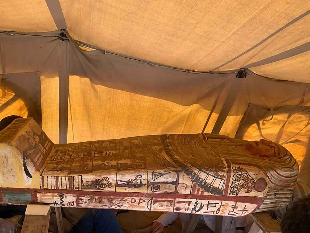 Sarkofagi odkryte na terenie Sakkary