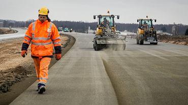 Budowa drogi/zdjęcie ilustracyjne
