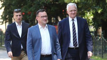Tomasz Urynowicz i Jarosław Gowin