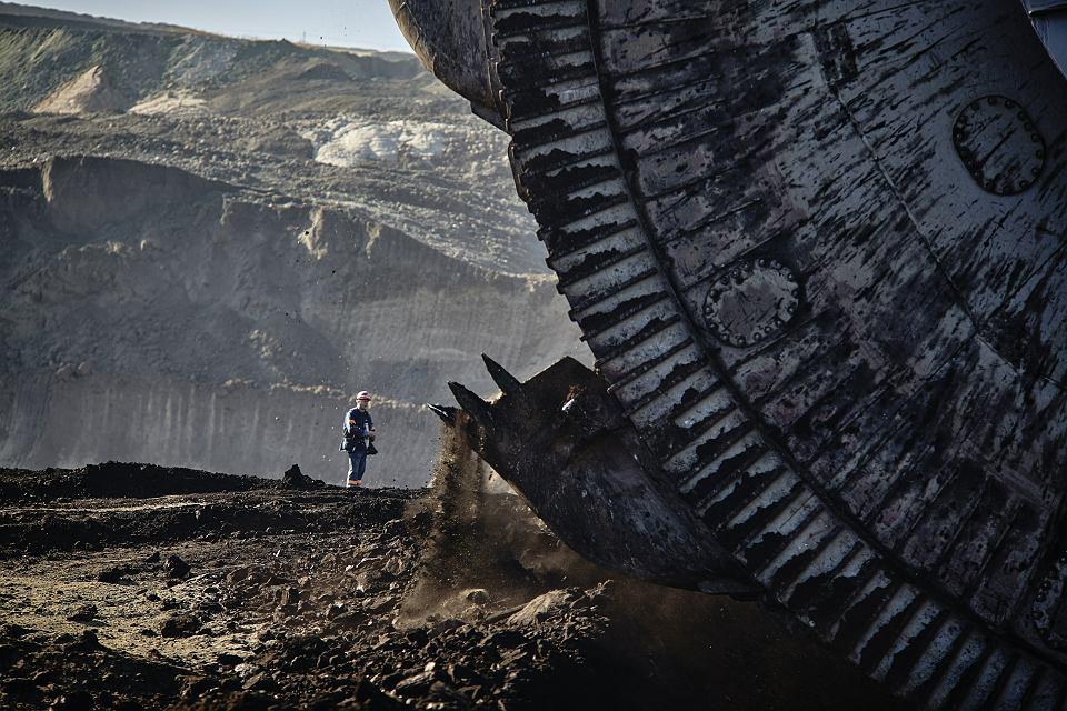 Kleszczów, polska kopalnia węgla brunatnego Bełchatów