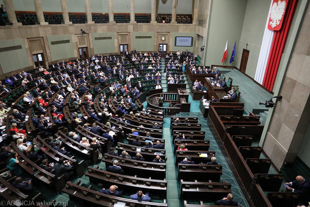 Wybory parlamentarne 2019. Sejm. Zdjęcie ilustracyjne