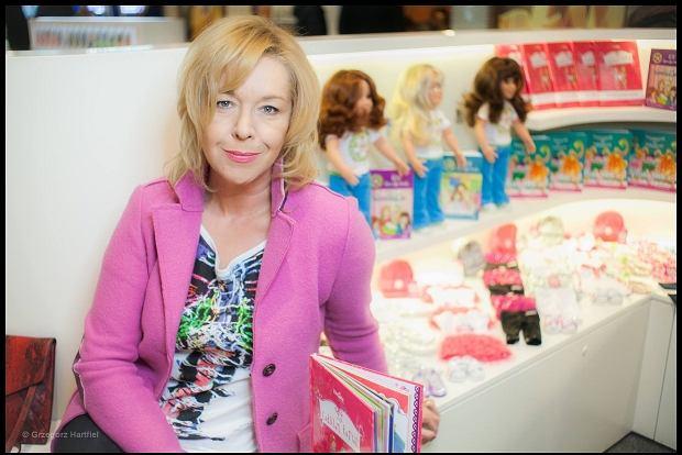 Joanna Charms - pisarka, psycholog, autorka książek / fot. Grzegorz Hartfiel