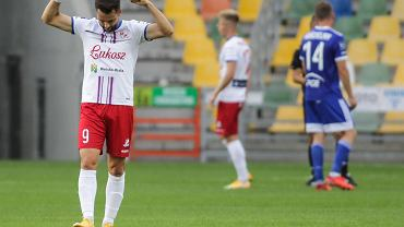 Podbeskidzie - Stal Mielec (1:0). Kamil Biliński