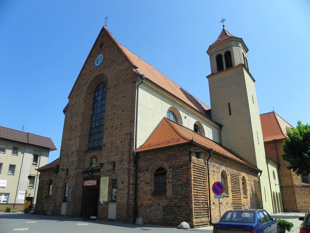 Kościół św. Mikołaja w Mosinie.