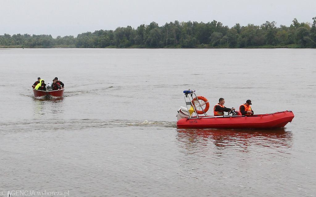 Akcja poszukiwawcza w okolicy Świniar, poniedziałek 23 sierpnia
