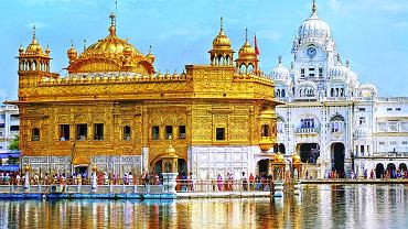 Indie - Amritsar, Złota Świątynia